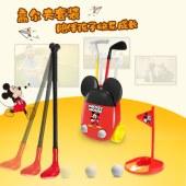 迪士尼儿童米奇米妮高尔夫球杆套装
