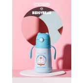 新易达文具-杯具熊哆啦机器猫联名款三盖儿童保温杯