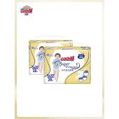 大王光羽系列短裤式纸尿裤XL28片透气拉拉裤婴儿干爽尿不湿柔
