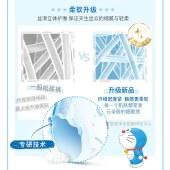 妮飘Nepia Genki!哆啦A梦纸尿裤L54片(9-14kg)尿不湿大码婴儿纸尿裤日本进口轻薄透气