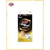 大王光羽鎏金环贴式纸尿裤M44片 贴合棉柔透气干爽婴儿尿不湿尿片
