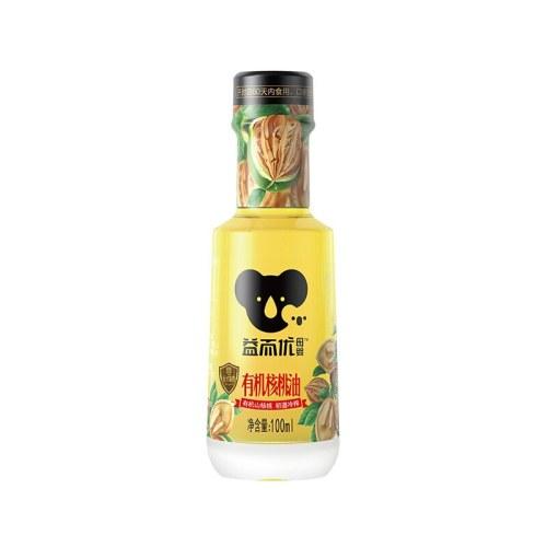 益而优母婴有机核桃油100ml天然DHA营养冷榨辅食婴幼儿宝宝食用油